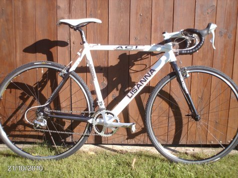 mon velo de cyclo cross
