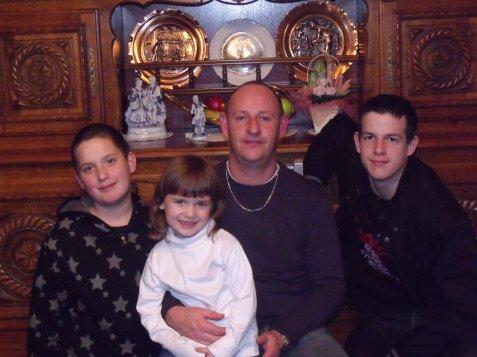 moi avec mes 3 enfants
