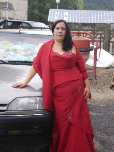 moi dans ma belle robe