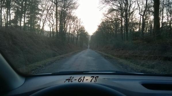 Un petit détour en voiture juste pour bien finir la journée