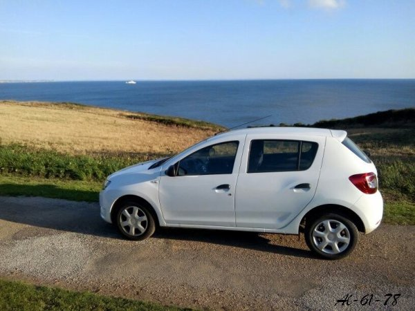 Sandy en Bretagne