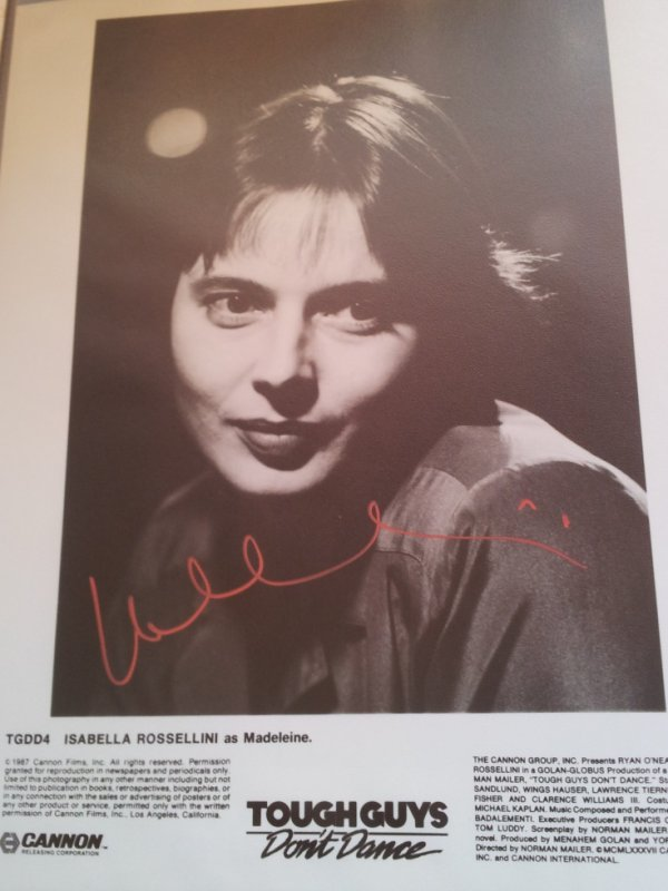 Isabella Rossellini (Blue Velvet, The Saddest Music in the World, Ludwig van B.)