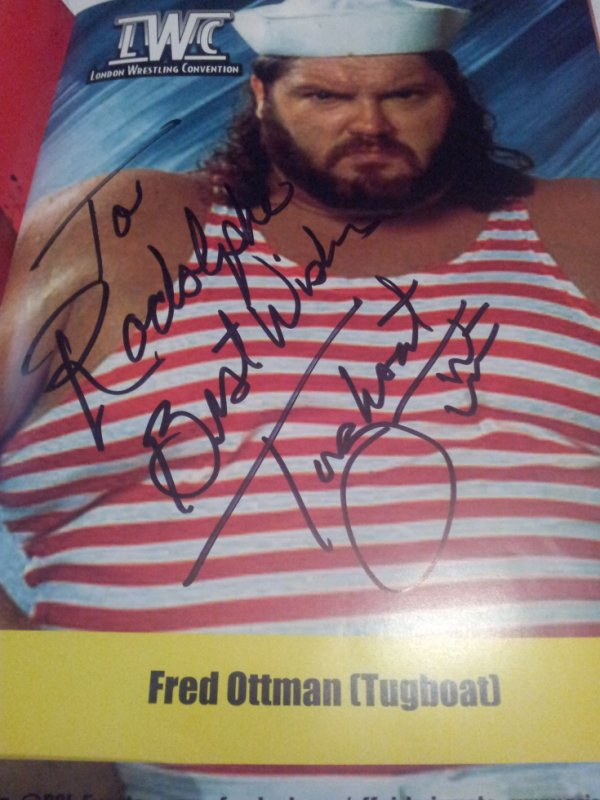 "Fred Ottman ""Typhoon"" (Wrestler)"