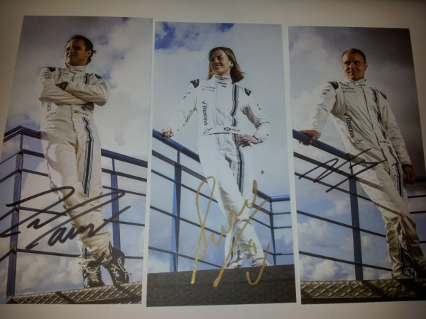 Felipe Massa & Valtteri Bottas & Susie Wolff Formule 1 (F1)