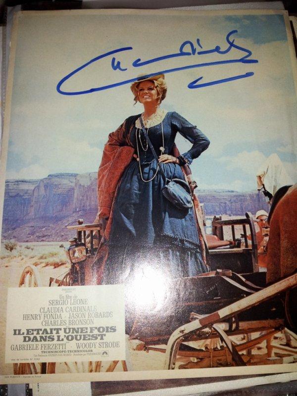 Claudia Cardinale (Il était une fois dans l'Ouest, Le Guépard, Cartouche)