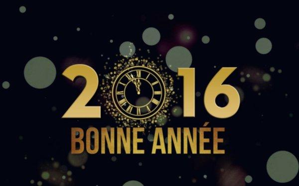 BONNE ANNEE 2016 !!!