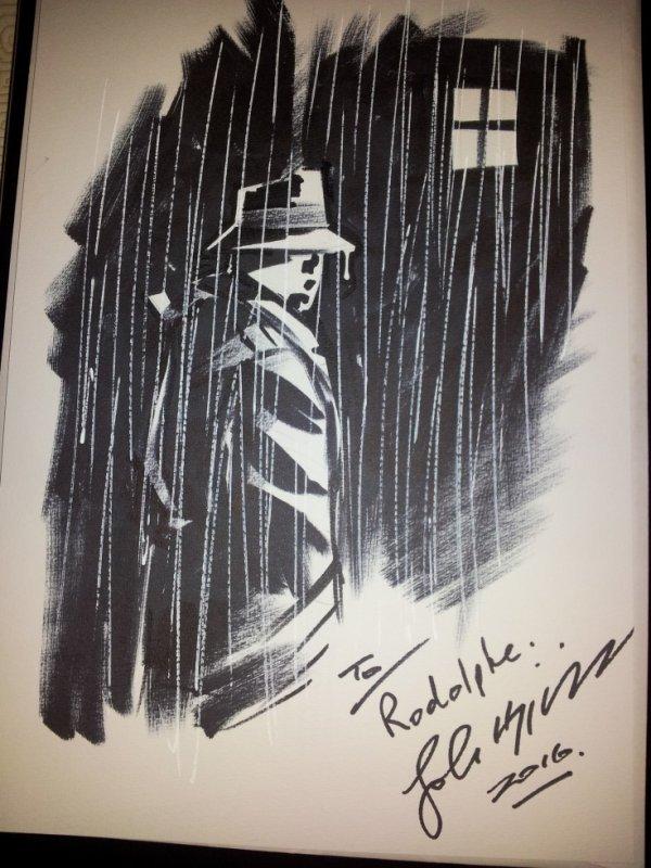 John Higgins dessinateur (Watchmen, Batman: The Killing Joke, Hellblazer)