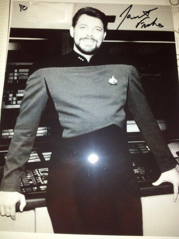 Jonathan Frakes (Star Trek The Next Generation)