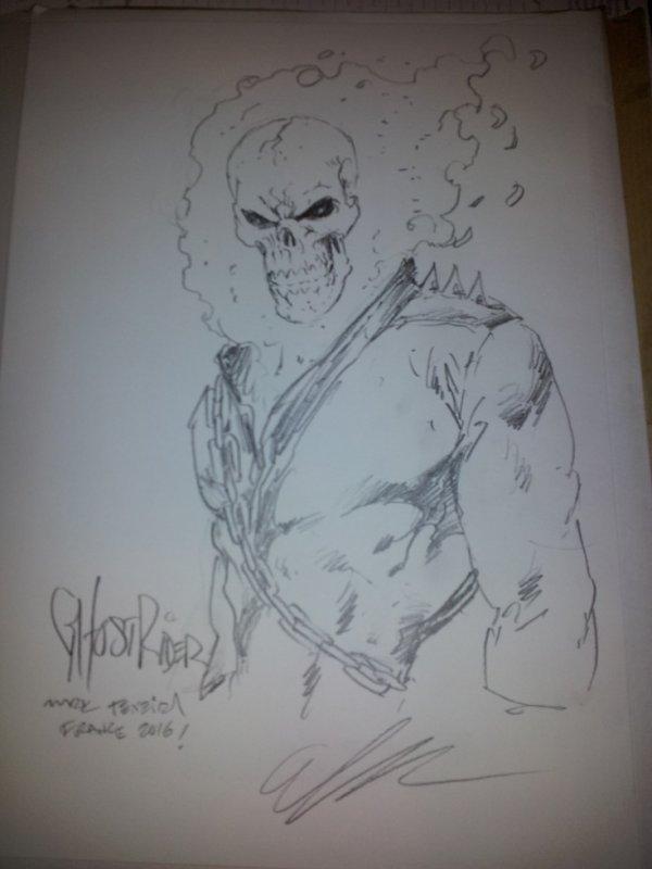 marc texeira - dessinateur (Ghost Rider)