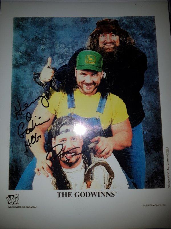 Henry Godwinn & Dennis Knight (Wrestler)
