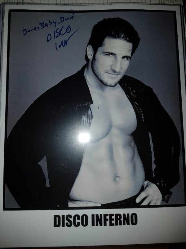 Glenn Gilberti alias Disco Inferno (Wrestler)