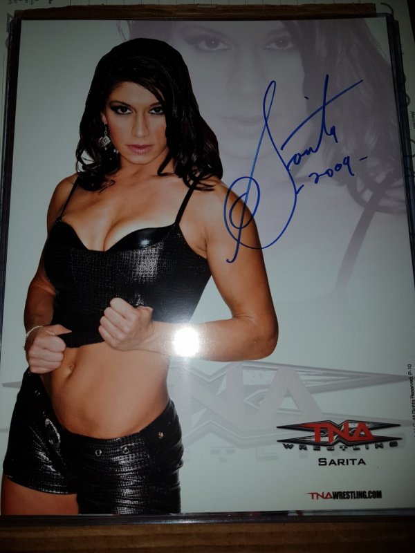 Sarah Stock alias Sarita & Dark Angel (Wrestler)