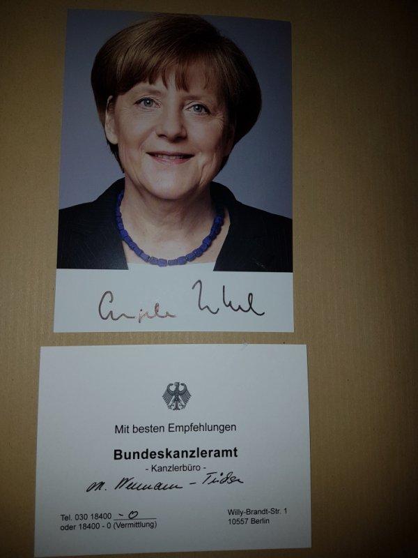 Angela Merkel (Femme politique)