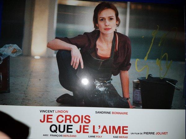 Sandrine Bonnaire (Au c½ur du mensonge, L'Équipier, Quelques jours avec moi)