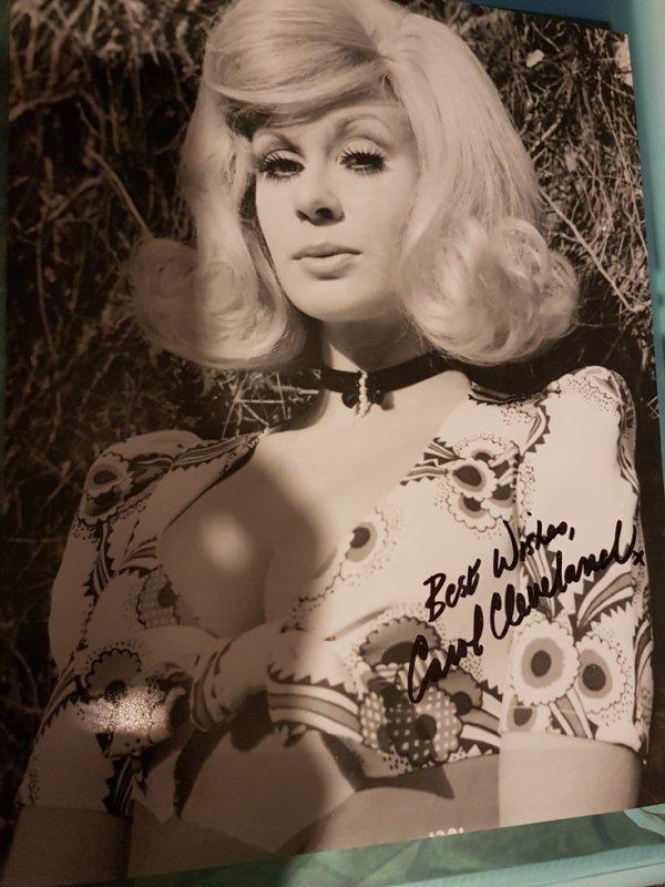 Carol Cleveland (Monty Python: Sacré Graal, La Comtesse de Hong-Kong, Le Retour de la Panthère rose)