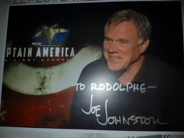 Joe Johnston - cinéaste (Jumanji, Jurassic Park 3, Wolfman)