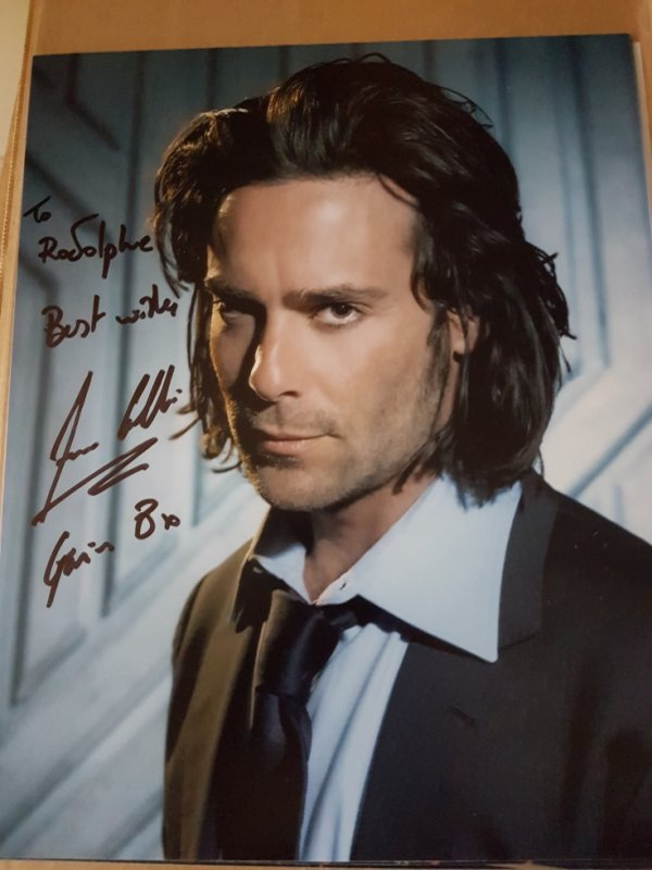James Callis (Battlestar Galactica, Le Journal de Bridget Jones, Eureka)