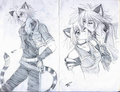 dessin manga magnifique