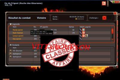 VITI GLOURSON // AFFAIRE CLASSER
