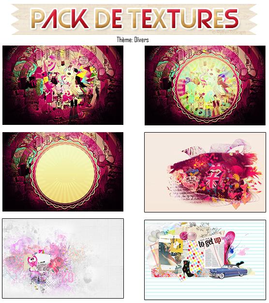 Pack Textures n°1