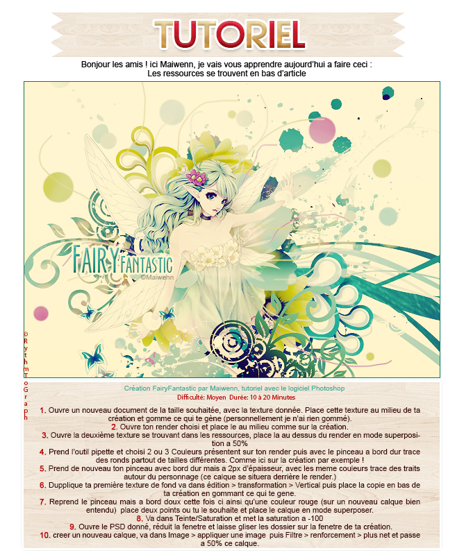 Tutoriel FairyFantastic