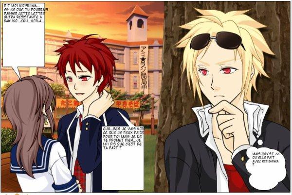 Ai, Kirishima et Bakugo (BNHA)