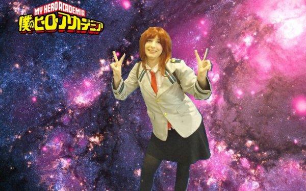 """""""I'm your Galaxy"""" Uraraka Ochako BNHA  Cosplay"""