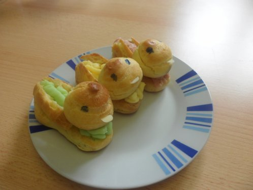 Menu de Pâques improvisé