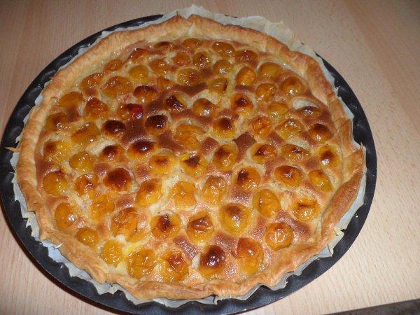 tartes mirabelles du jardin / amandes
