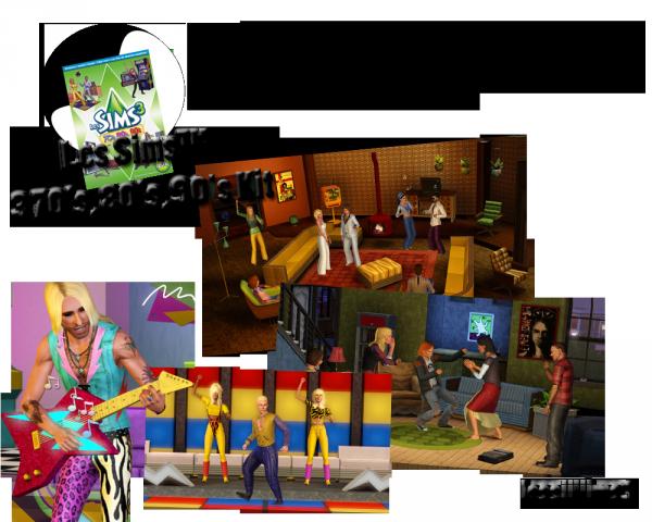 Les Sims™ 3 70's, 80's, 90's Kit