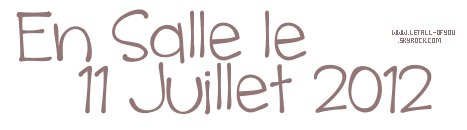 RUBRIQUE CINEMA : LetAll-OfYou  #.