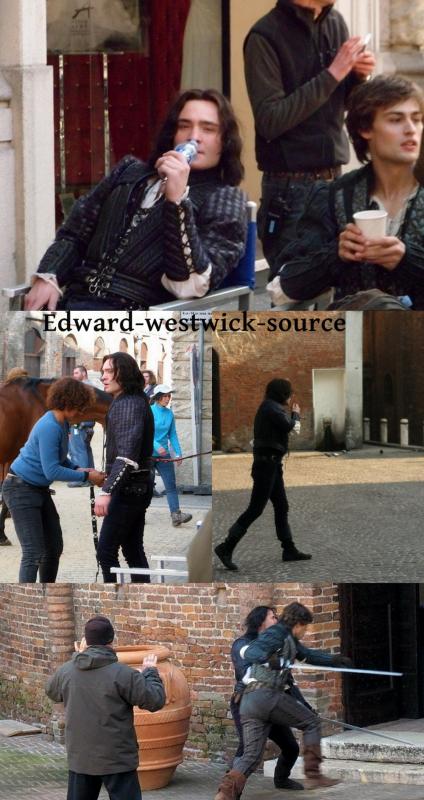 Ed a était photographié par FRANCES TULK-HART pour un tout nouveau shoot, les photos sont trés belle et très Naturel ! + Nouvel photo d'Ed sur le tournage de Romeo et Juliette