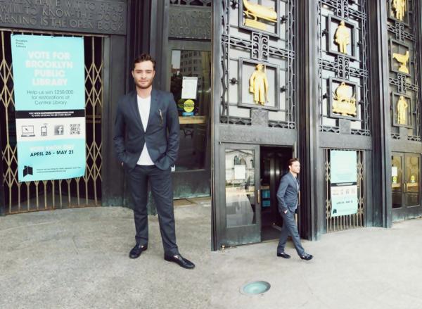 Le 7 Mai il s'est rendu au Met Gala at the Metropolitan Museum of Art. La veille le 06 Mai , Ed a était visité un musée de Brooklyn, il est venu pour mettre en avant le partenariat entre American Express et the National Trust for Historic Preservation qui ont pour but d'aider à restaurer la librairie de Brooklyn.+ Voter pour Ed au Teen Choice Awards !!