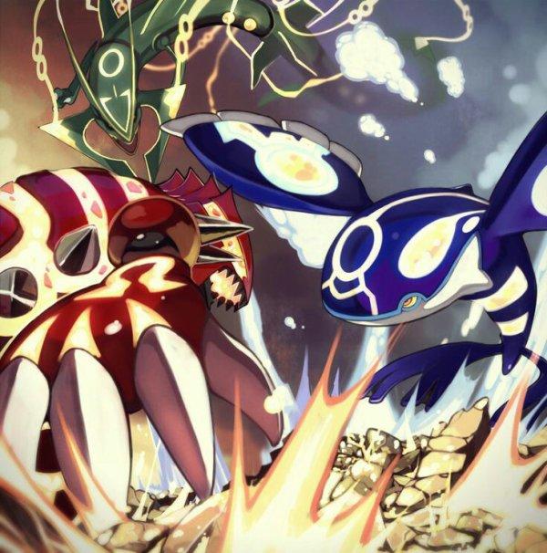 Guerre d'Hoenn:Chap1:Legendaires réveillés !!!!!!