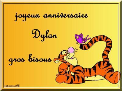 Kado Recu De Corinne Bon Anniversaire Dylan Doucette