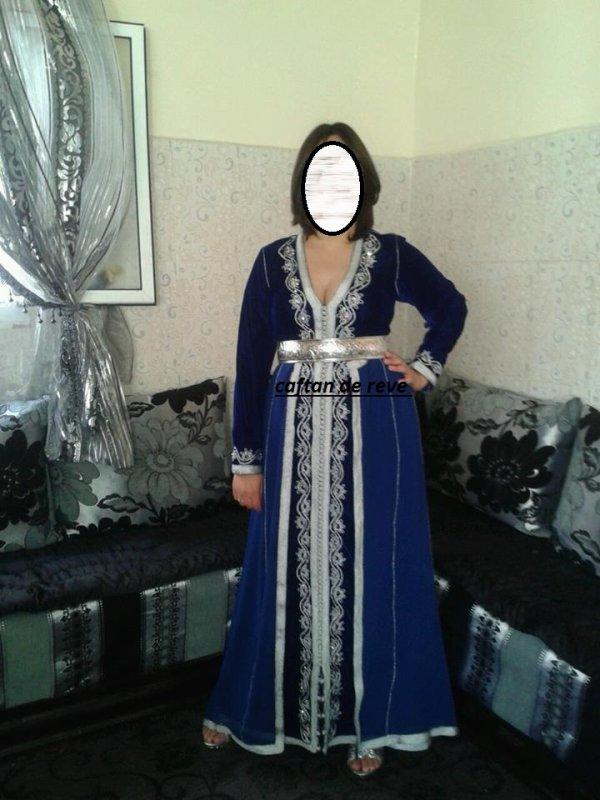 takchita en bleu roi