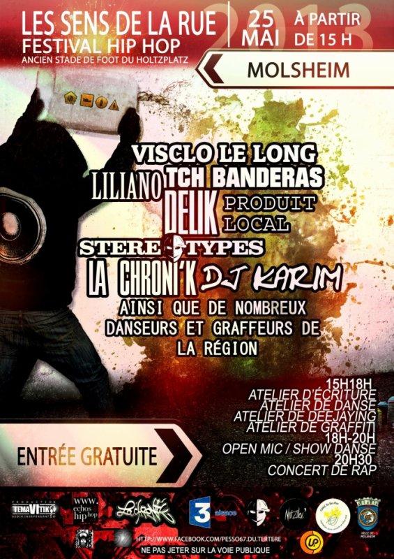 Festival : Les sens de la rue 25 Mai 2013