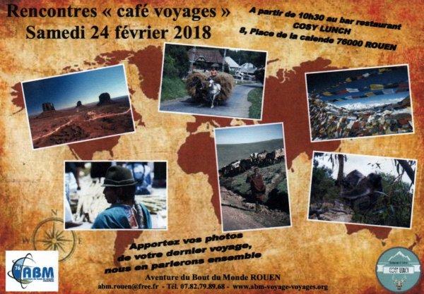 """Rencontre """"café voyages"""""""