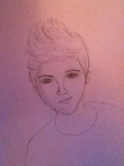 Niall by me <3