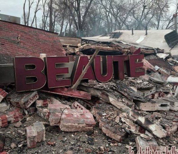 """Une beauté à """"tomber par terre"""""""