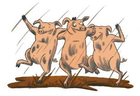Origines de l'Expression : « Être copains comme cochons »