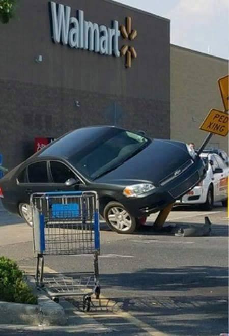 Chéri, j'ai garé l'auto !!!