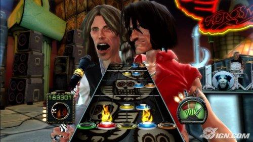 Guitar Hero Aerosmith (Terminé !)
