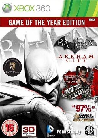 Batman Arkham city -edition jeu de l'année- (Xbox 360)