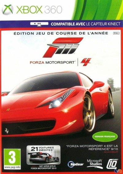 Forza motorsport 4 -edition jeu de course de l'année- (Xbox 360)