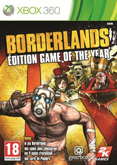 Borderlands -édition jeu de l'année- (Xbox 360)