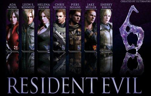 Resident Evil 6 (Terminé !)