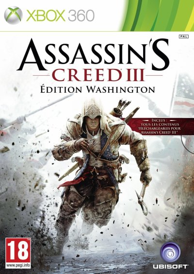 Assassin's Creed III - Edition Washington- (Xbox 360)