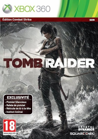 Tomb raider -combat strike edition- (Xbox 360)