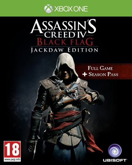 Assassin's Creed 4 - Black flag Jackdaw Edition- (Xbox one)